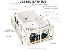 jacuzzi bath tub parts whirlpool tub plumbing diagram with whirlpool tub parts designs wonderful bathtub replacement