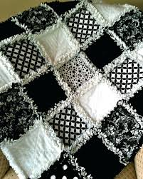 Country Rag Quilts – boltonphoenixtheatre.com & ... Beautiful Black And White Rag Quilt My Sis N Law Has One Similar  Primitive Rag Quilts ... Adamdwight.com