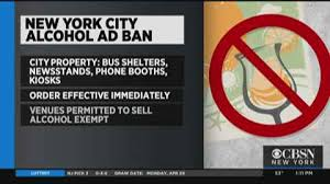Alcoholic York Weather Ad And Ny Nyc News Breaking Ban Of - New Traffic The Cbs Sports Best