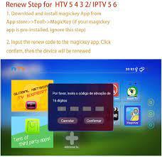IPTV Renew Code Brazil TV Box Renewal Activation Code for A2 A3 HTV 3 5 IPTV