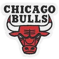 bulls logo. Brilliant Logo Chicago Bulls NBA Logo Patch On D