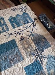 Winter village Quilt pattern name. | Quilts | Pinterest | Patterns ... & Winter village Quilt pattern name. Adamdwight.com