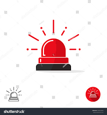 Emergency Light Logo Special Police Flasher Light Emergency Department Stock