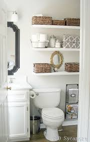 11 Fantastic Small Bathroom Organizing Ideas! See how you can maximize your bathroom  storage:
