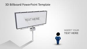 Design A Billboard Online Free Animated 3d Billboard Powerpoint Template 3d Powerpoint