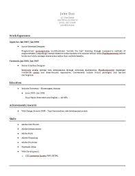 Resume Template Builder Project Scope Template