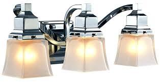 hampton bay vanity bay vanity light brushed nickel