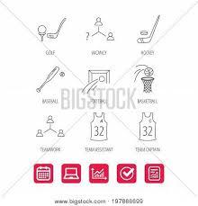 Baseball Signals Chart Football Ice Hockey Vector Photo Free Trial Bigstock
