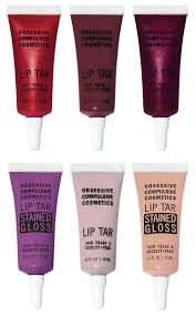 obsessive pulsive cosmetics moderncraft collection for fall 2016 lip tars