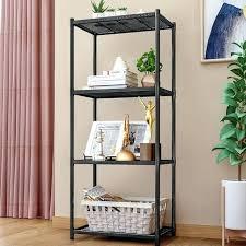 free standing kitchen storage shelves dresser cabinets 4 layer bathroom shelf debris rack floor likable