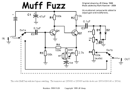 diystompboxes com fuzz pedal wiring diagram here is the modded circuit