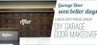 diy faux wood garage doors. DIY Garage Door Makeovers Diy Faux Wood Doors