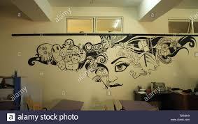 Deewar Par Painting Design School Wall Painting Stock Photos School Wall Painting