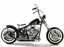 side view chopper motorcycle with custom made lost art anaconda