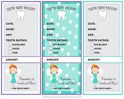Make Receipts Free Simple Tooth Fairy Receipt Free Printable Capturing Joy With Kristen Duke