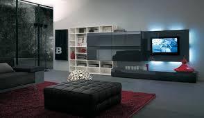 Small Picture Modern Italian Lcd Black Wall Unit Design Ipc217 Lcd Tv Cabinet
