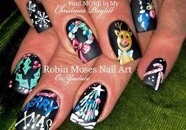 Robin Moses Nail Art: Christmas Nail Art | Cute DIY Xmas Nails ...