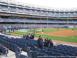 Yankee Stadium View From Legends 14a Vivid Seats