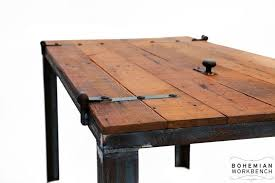 Custom Made Old Barn Door Desk / Table - Reclaimed Materials