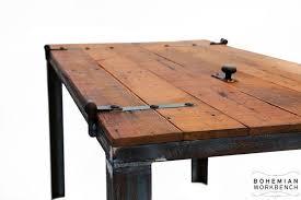 old barn door desk table reclaimed materials