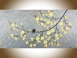 yellow and gray framed wall art