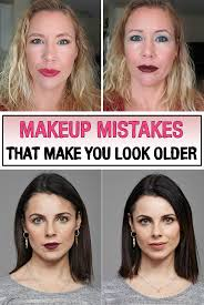 whether you have 18 28 or 38 years these make up mistakes will instantly add 10 years on your face
