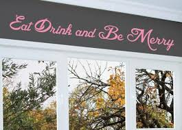 Small Picture Eat Drink and Be Merry Wall Decal 0006 Kitchen Wall Decals