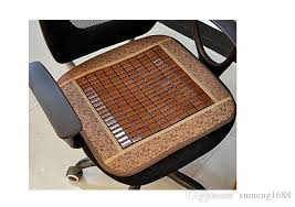 cooling office chair. 45x45cm Summer Home Cooling Chair Pad Cool Bamboo Cushion Car  Comfort Seat Breathable Office Cover Mat Wicker Cushions Outdoor Cooling Office Chair