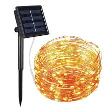 Solar Led Copper Wire Lights