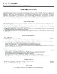 Sales And Trading Resume Trading Resumes Physic Minimalistics Co