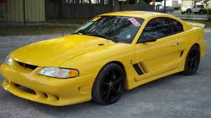 1998 FORD MUSTANG COBRA SALEEN FOR SALE LEISURE USED CARS 850-265 ...