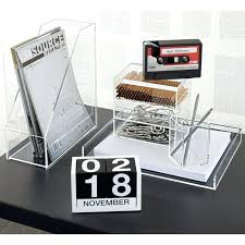 full image for clear acrylic desk accessories office desk organizer sets office desk accessories for fun