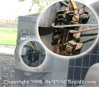 contactor replacement diyhvacrepair com contactor location