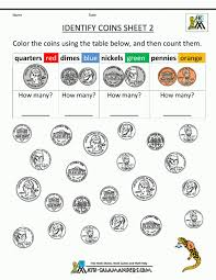 Math Worksheets Free Counting Money Uk Coins Touch Coin Printable ...
