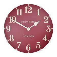 thomas kent arabic wall clock temple