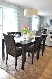 area rug in dining room. Modren Room Suburbs Mama Dining Area Third Times The Charm In Rug Room G
