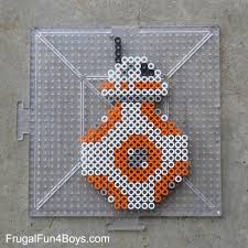 Star Wars Perler Bead Patterns Delectable Star Wars The Force Awakens Perler Bead Patterns Frugal Fun For