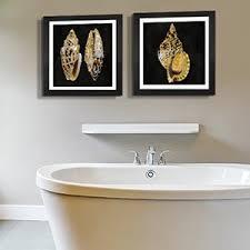 fun bathroom sea treasures canvas art on wall art for bathroom with canvas wall art for bathroom icanvas