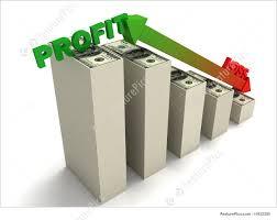 profit loss graph profit and loss graph illustration