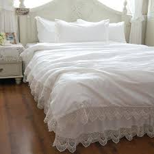 lace duvet cover free elegant romantic snow white lace bedding sets duvet cover comforter queen