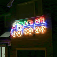 christmas rope lighting. 27m outdoor led rope light christmas animated train motif lighting d