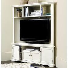 corner media cabinet. Reston Corner Media Console With Hutch Cabinet E