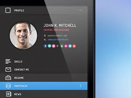 Resume App Extraordinary Resume App Ui By Pasquale Vitiello Dribbble
