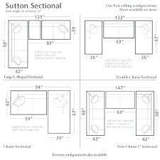 furniture dimensions