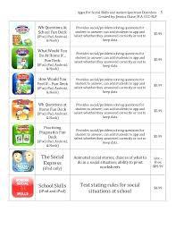 Social Stories Worksheets