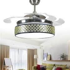 fan with chandelier light. supply fashion led invisible ceiling fan lights lighting chandelier lamp export of dual-use motor free shipping with light