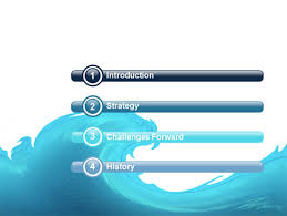 wave powerpoint templates wave powerpoint template backgrounds 04052 poweredtemplate com