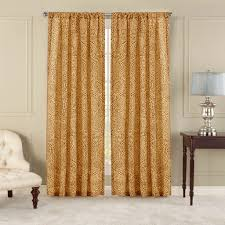nicetown paisley pattern faux linen sheer voile curtain panels