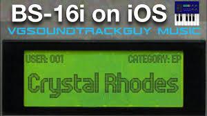 VGSG's Crystal Rhodes: iOS Edition (BS-16i) - Now Available - YouTube