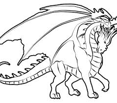 Free Dragon Coloring Pages Cute Dragon Coloring Pages For Kids Free
